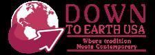 Down To Earth USA Logo